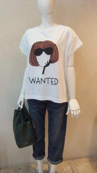 A/W hossイラストTシャツ