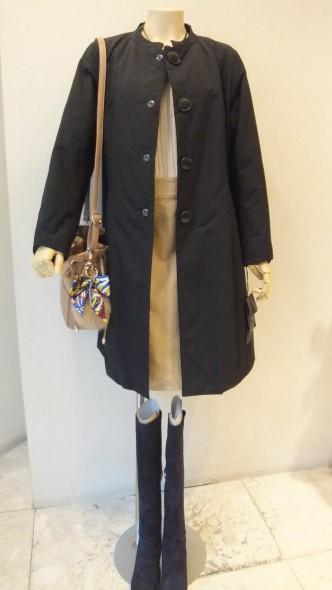 FINAL SALE もあと少しです☆ MIYAZAKIMASAHIRO DESIGNWORKSコート&FIGNOロングタイトスカート&INTROPIAハイネックニット
