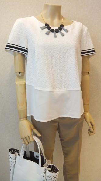 夏のインポートトップス♪ MARELLAブラウス&Tシャツ I BLUES お袖チュールトップス