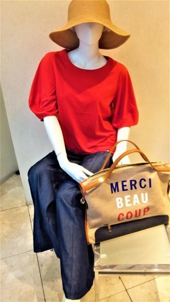 カットソー新作入荷しました♪ RESPECカットソー&NerineTシャツ&リネンスカート