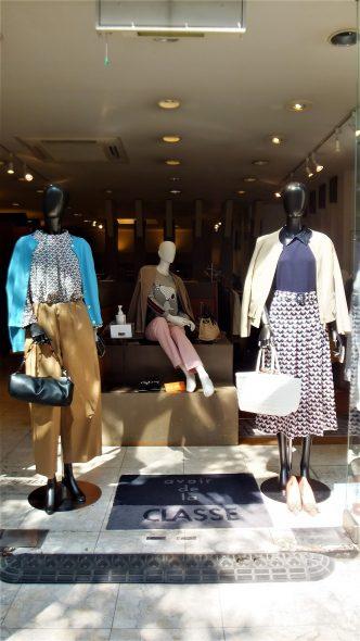 春の店頭のご紹介です♪ ALDRIDGEカーディガン&YAMATO DRESSパンツ&FIGNOブラウス