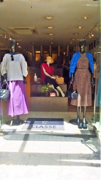 FIGNO 2wayブラウス&ma couleurパープルロングスカート